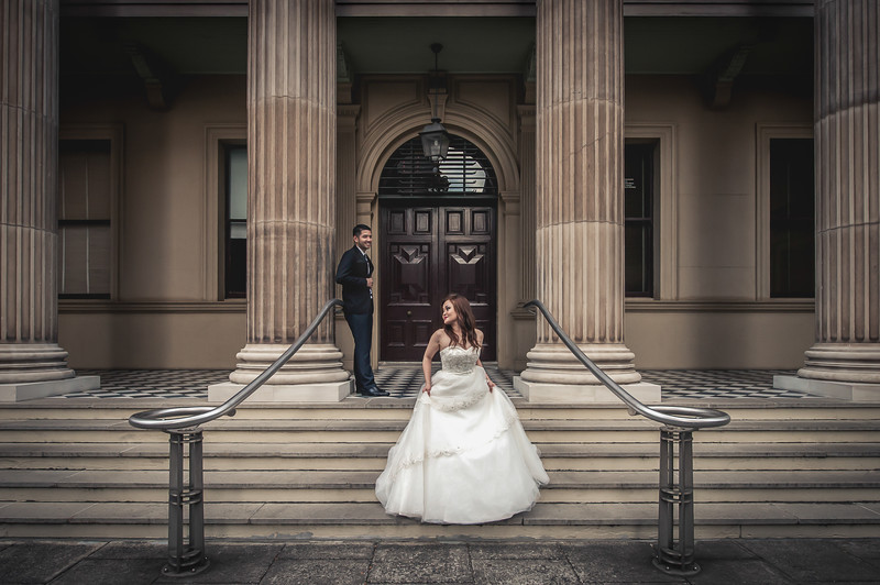 Best Brisbane Wedding Photography- Customs House