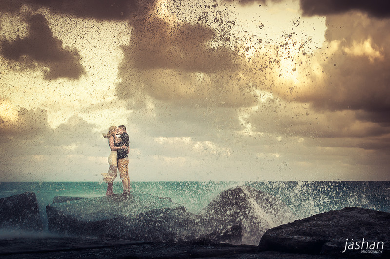 Gold Coast Engagement Photography location-The Spit