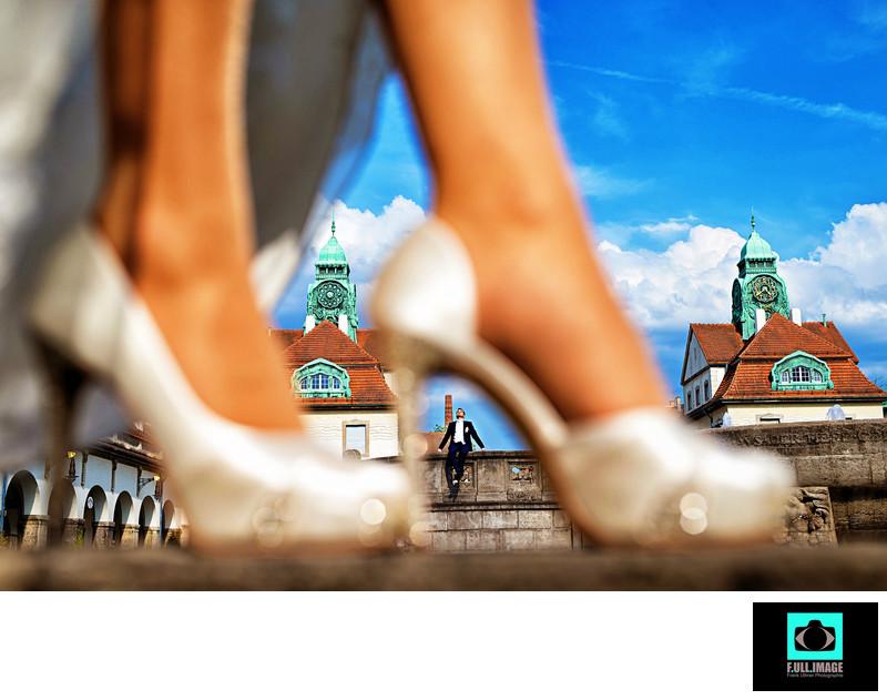 Bridal Shoes Framing, Brautschuhe