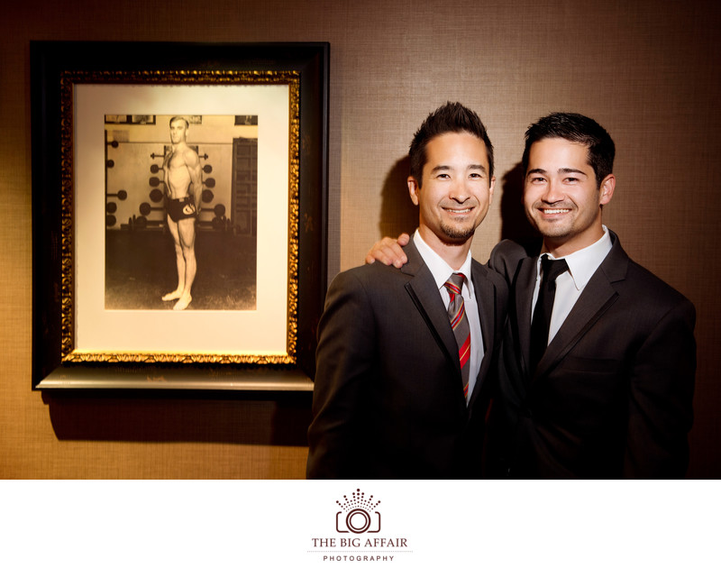 Los Angeles Atheletic Club Wedding Photographer