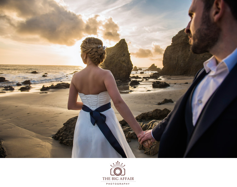 Malibu Wedding - El Matador Beach