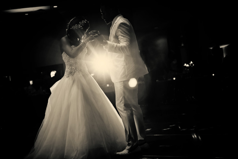 Forsyth Conference Center Wedding Photographer 1st dance