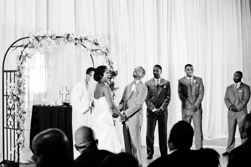 Georgia Freight Depot Atlanta Wedding Photographer vows