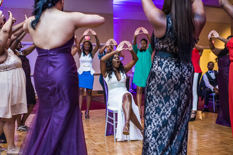 Hilton Hotel peachtree City Wedding Photographer sorors