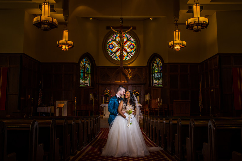 St Brigid Catholic Church Atlanta Wedding Photographer