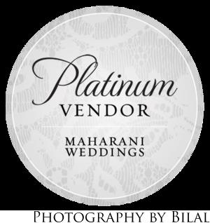 Maharani Weddings Platinum Vendor
