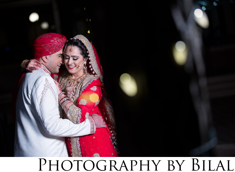 Pakistani Bride and Groom Wedding Photographer NJ