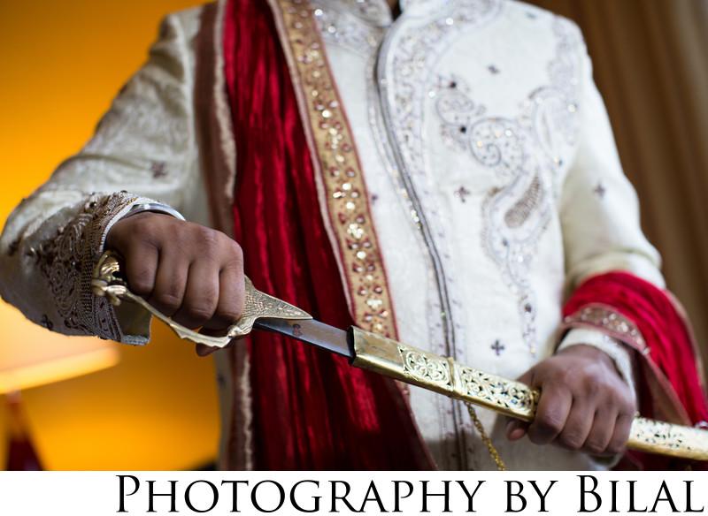 Sikh Sword Wedding Photography NJ