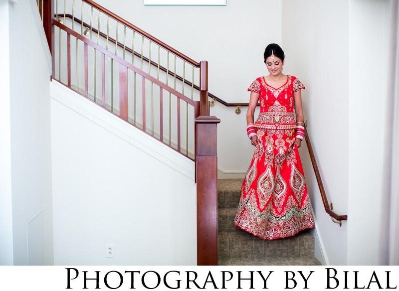 Beautiful Sikh Bride Wedding Photographer NJ