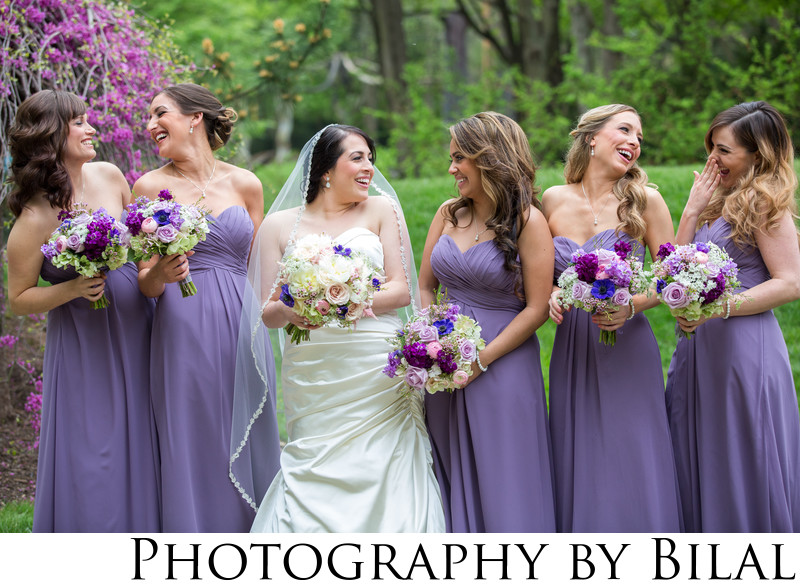 Fun Bridesmaids Wedding Photos NJ