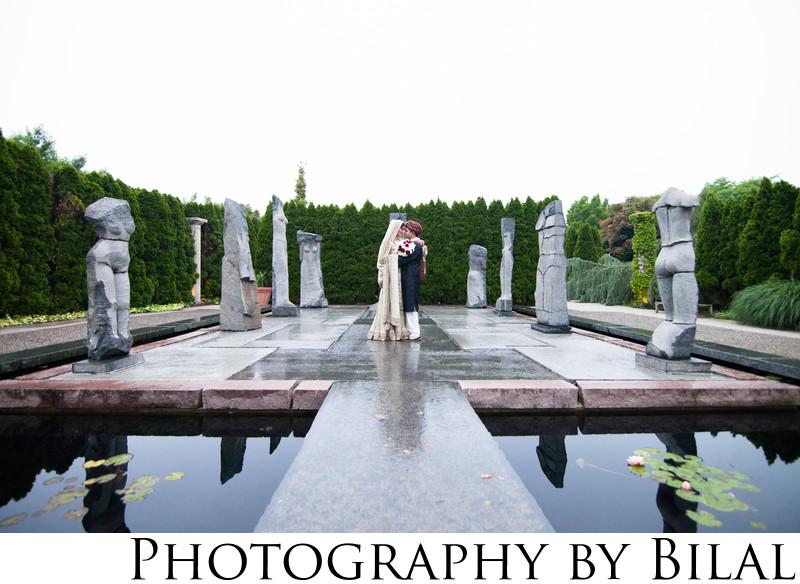 Grounds for Sculpture NJ Wedding Photos