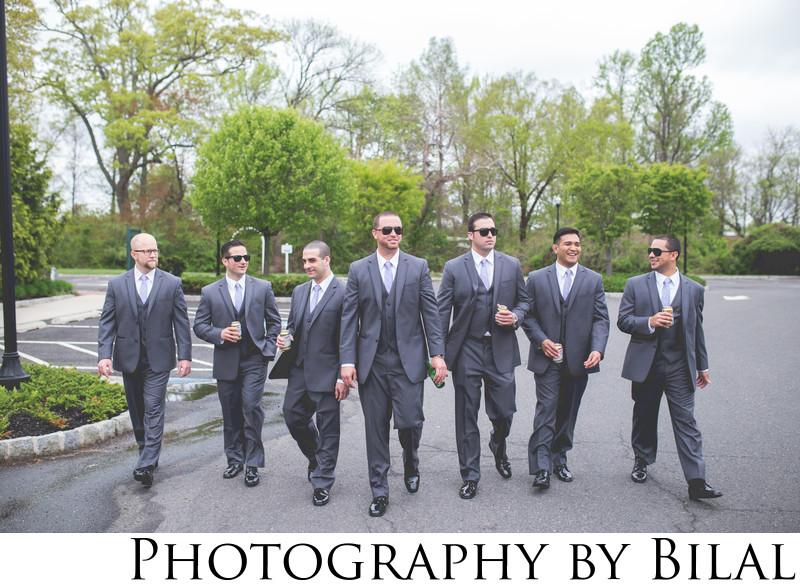 Groomsmen Wedding Photography NJ