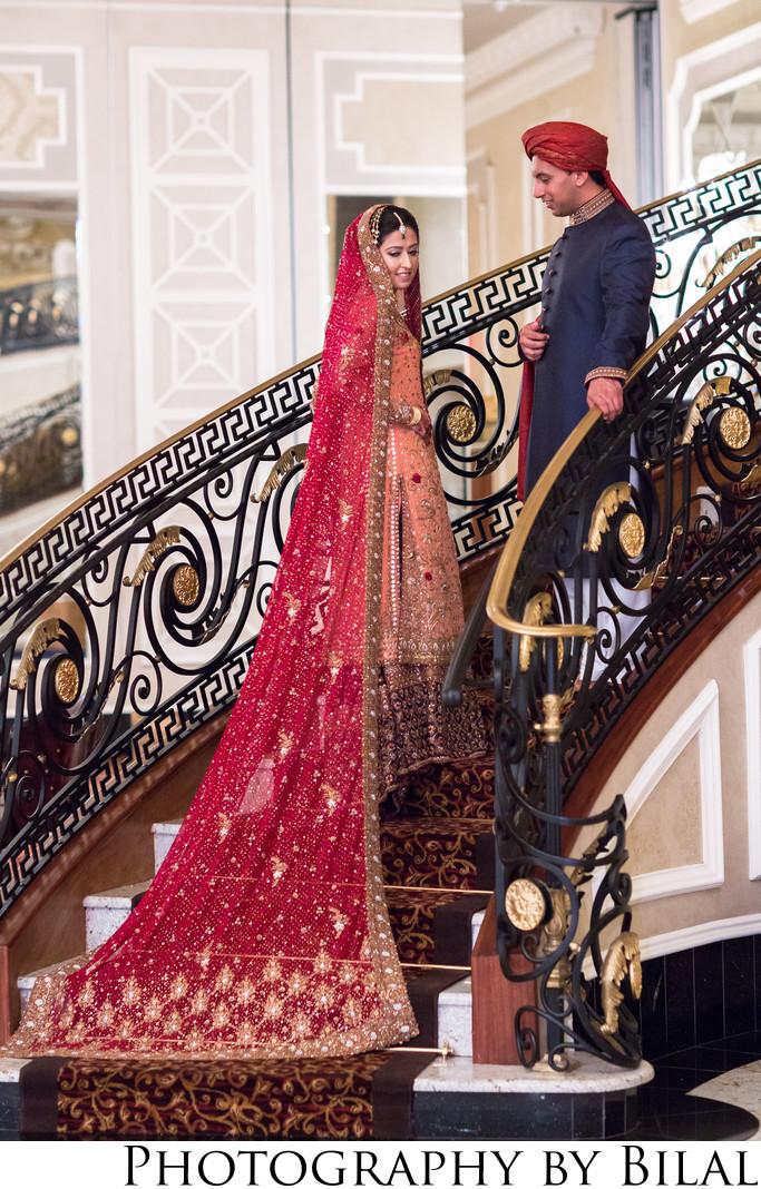 The Venetian NJ Pakistani Wedding Photographers