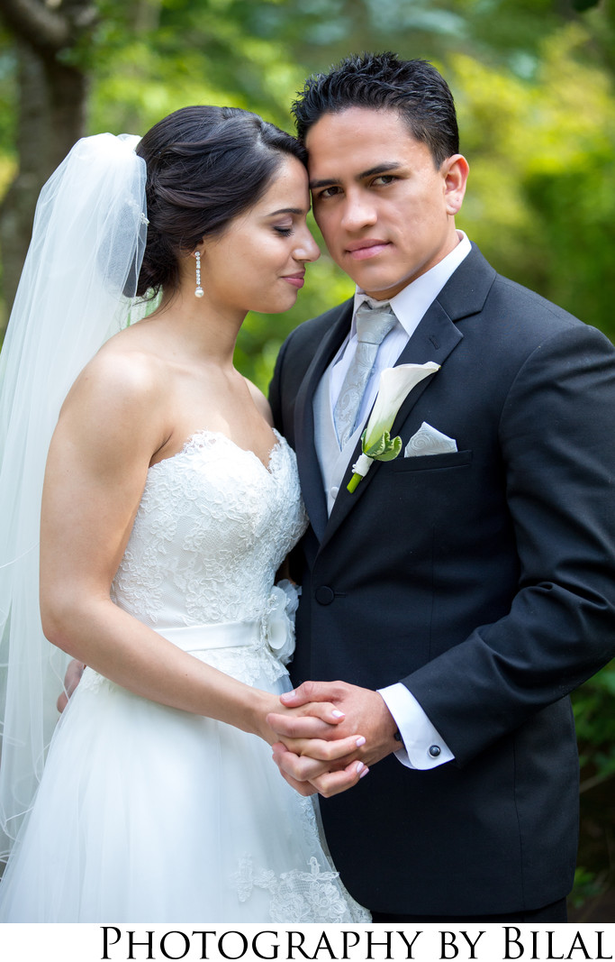Wedding Photos at Sayen Gardens NJ