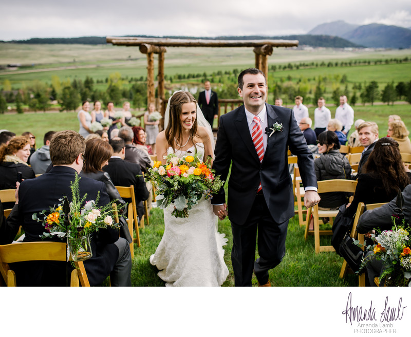Spruce Mountain Ranch Mountainside Ceremony