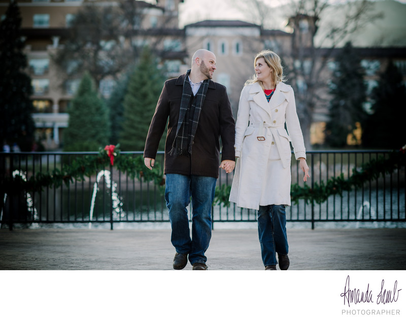 The Broadmoor Hotel Engagement Session
