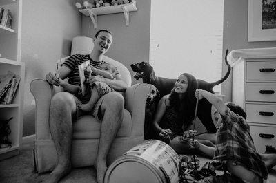 Stapleton Home Family Session