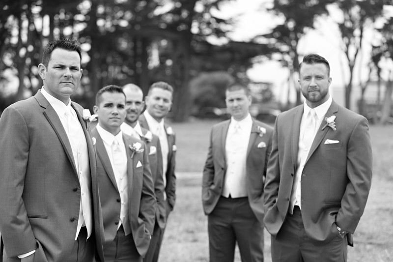 Cool Groomsmen wedding photo.