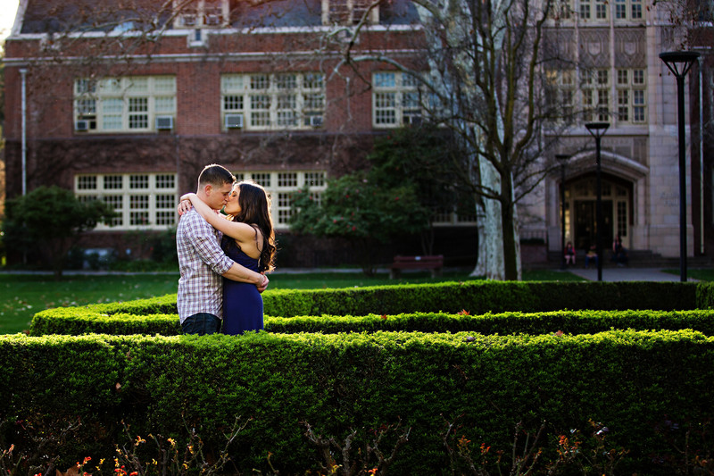 UOP Engagement Session Morris Chapel