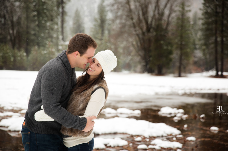 Dreamy Yosemite Engagement Session Yosemite Valley