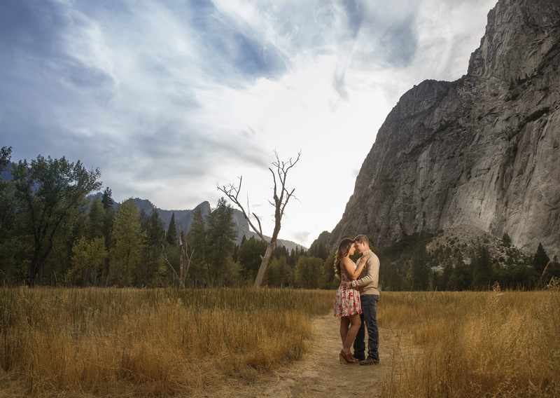 YOSEMITE VALLEY ENGAGEMENT SESSION