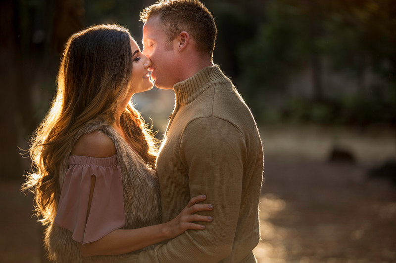 Fall Pinecrest Engagement Session
