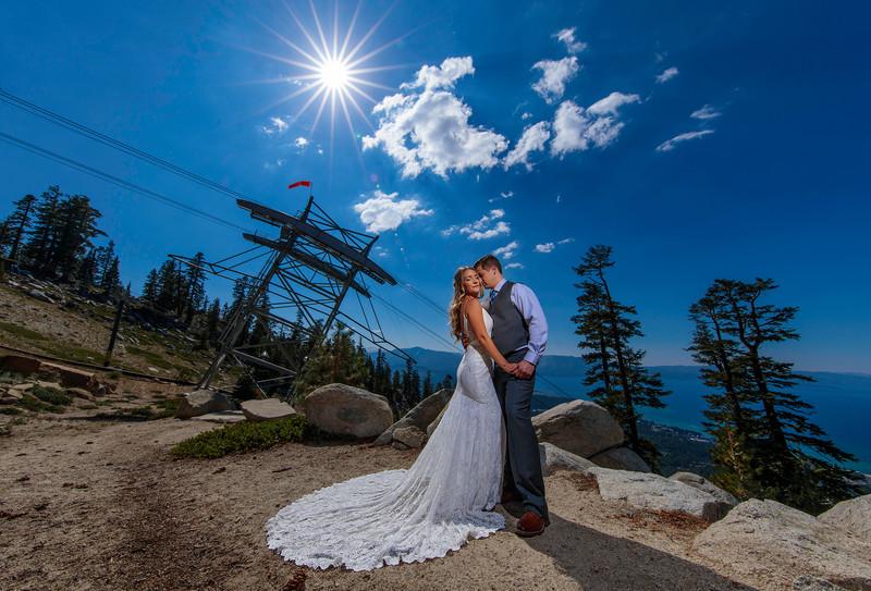 Heavenly Ski Resort Wedding Photography