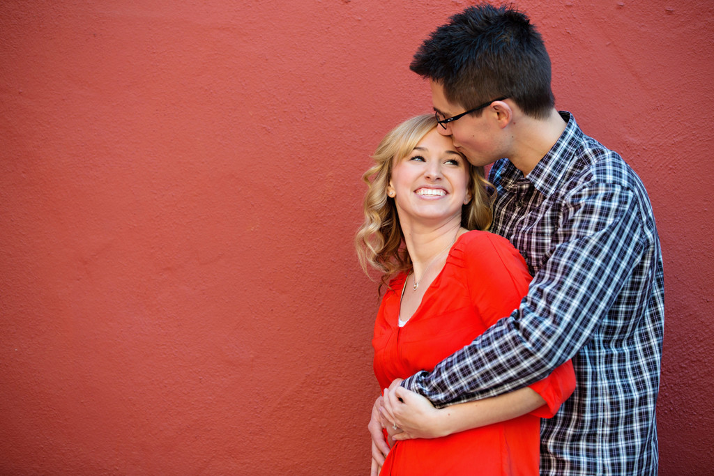 Old Town Sacramento engagement session