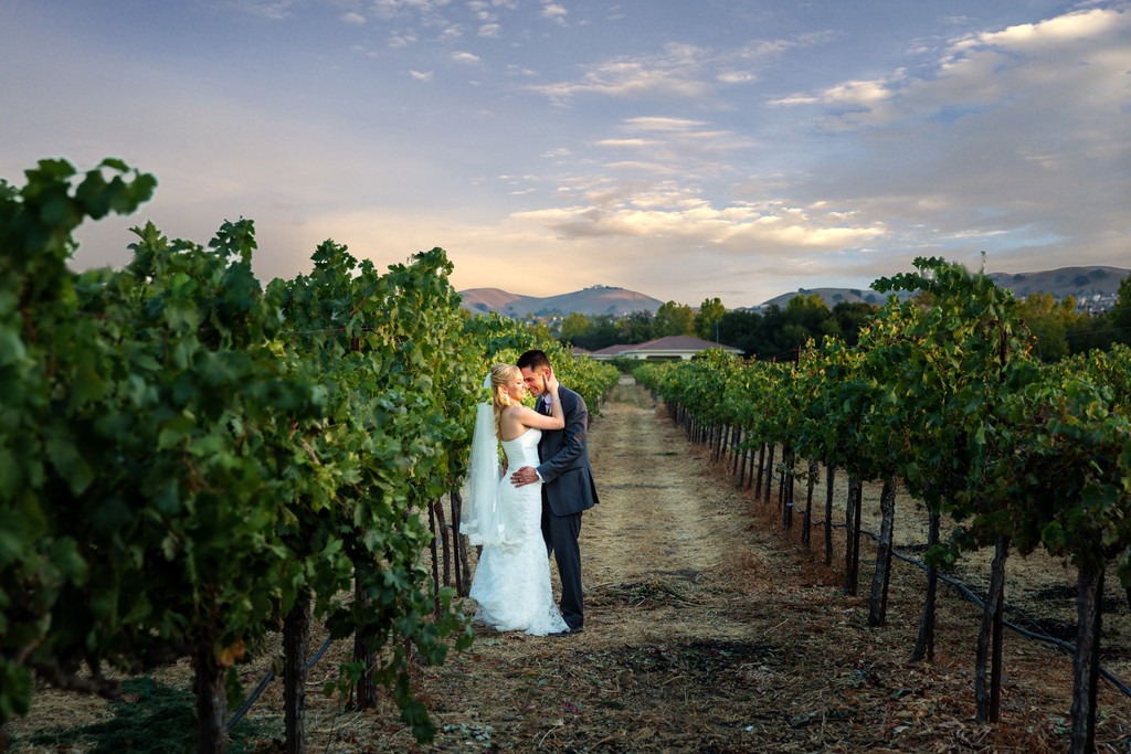 Casa Real Wedding Pleasanton California Vinyards