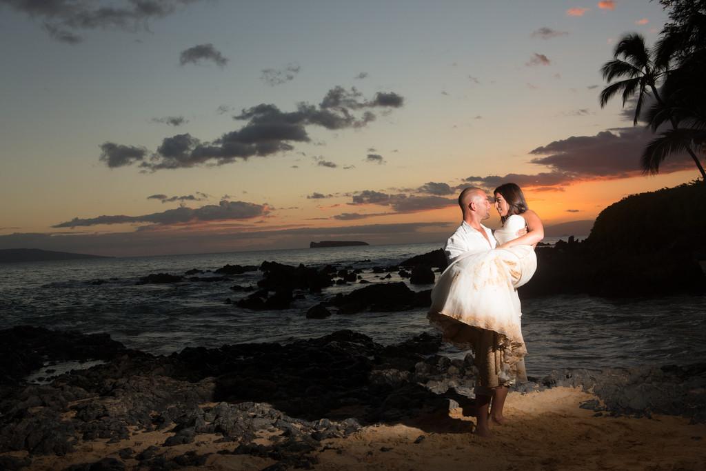 Secret Beach Maui Hawaii Destination Wedding