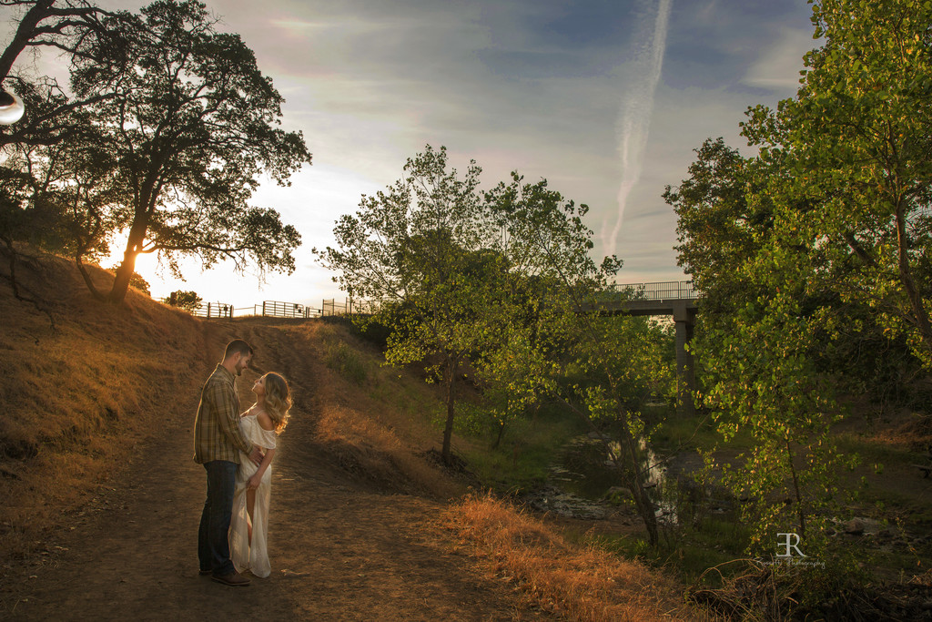 Country Engagement Photo session Brentwood California