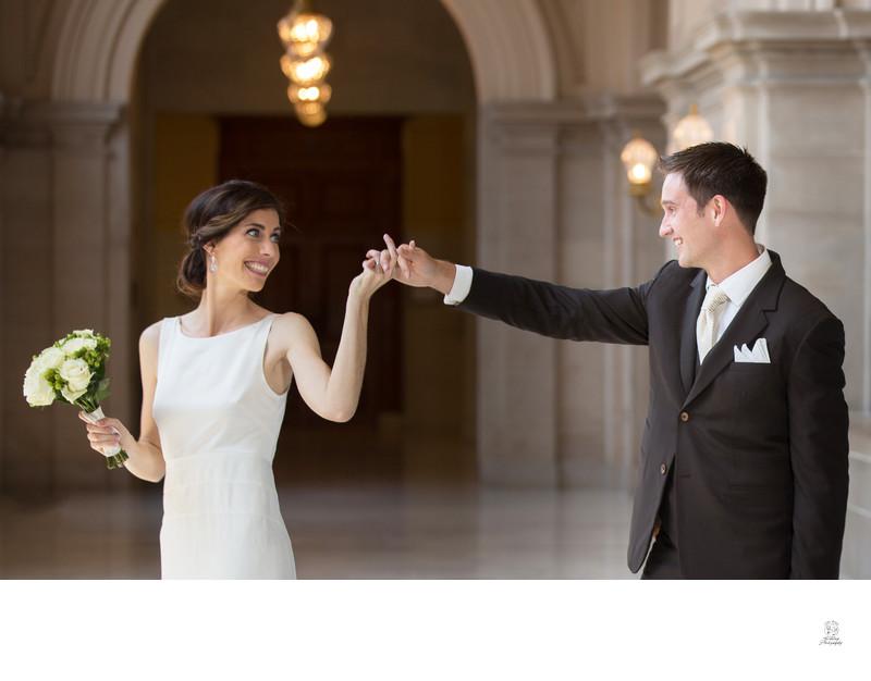 dancing at San Francisco City Hall