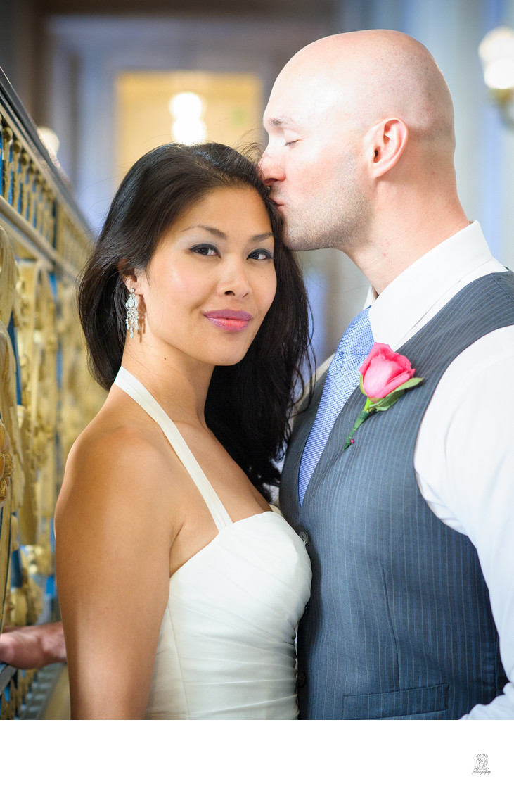 Passionate Couple at San Francisco City Hall