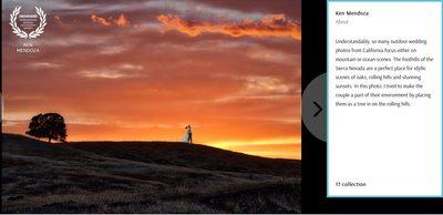 Wedaward Wedding Photography Award Napa
