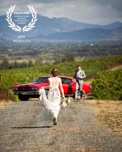 Wedding Photography Award Vine Hill House