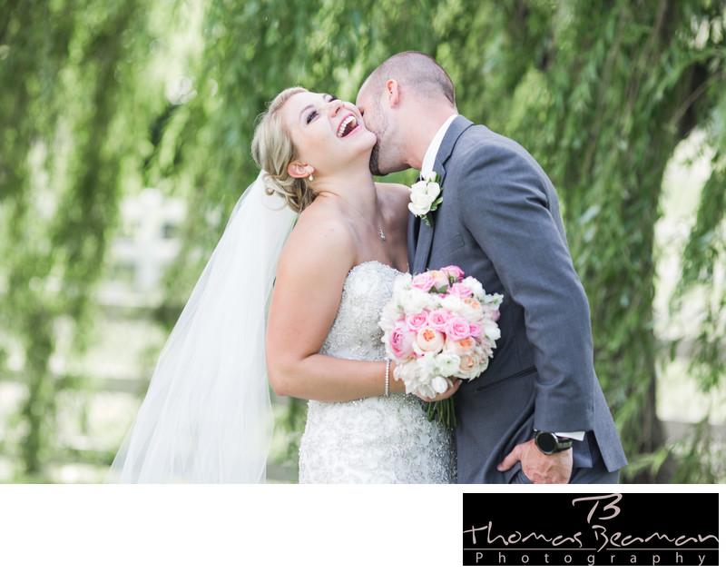 Hershey Lodge Summer Wedding Photo