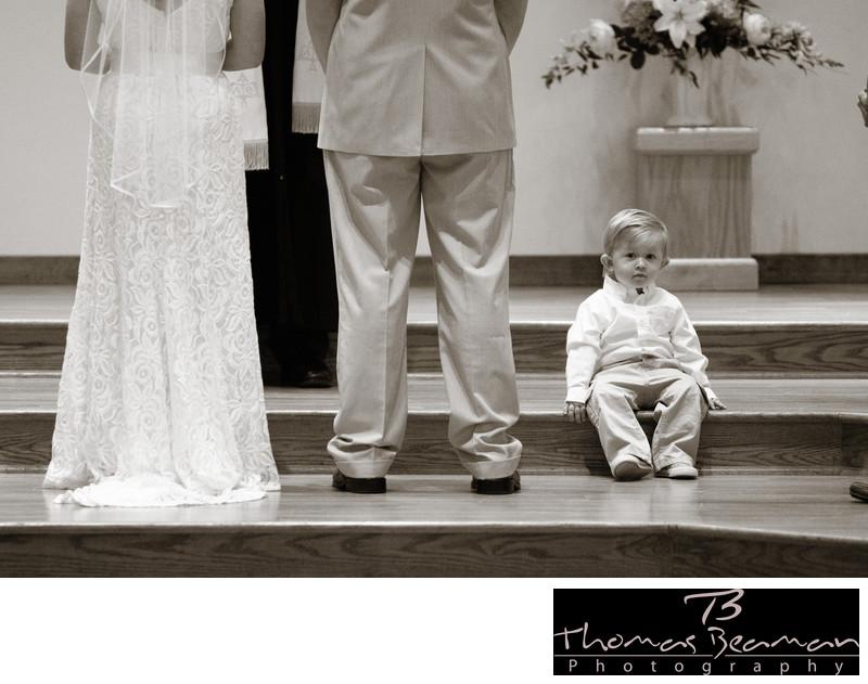 Candid Wedding Photo at Harrisburg Wedding
