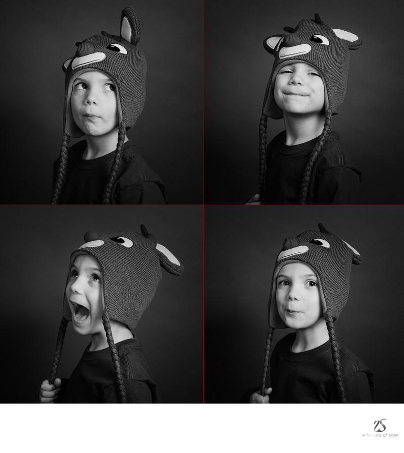 Studio Photographer Fort Wayne Christmas Portrait