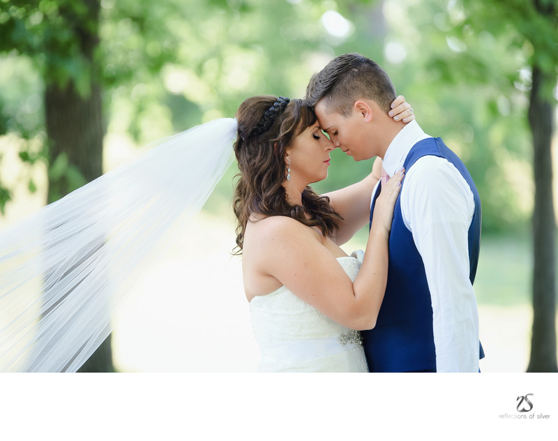 Fort Wayne Wedding Photography Bride and Groom
