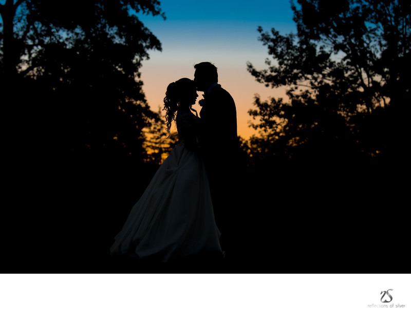 Sunset Wedding  Photos Ft Wayne Country Club