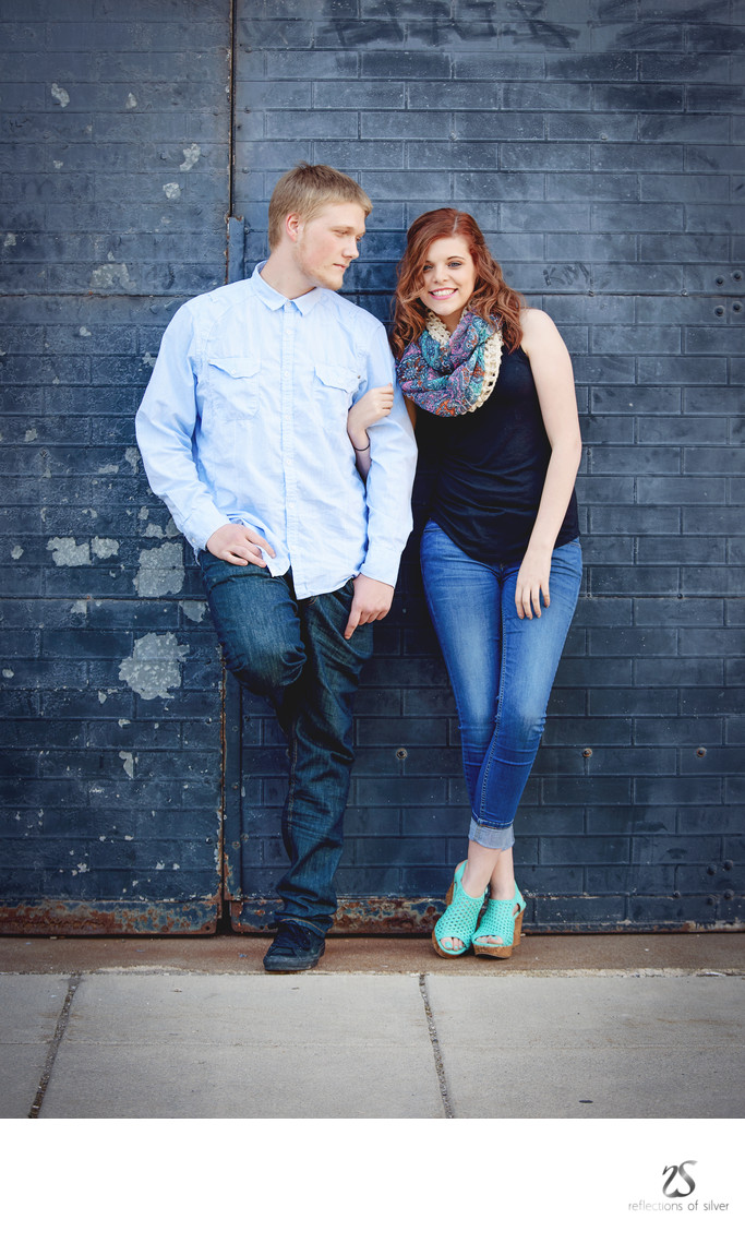 Couples Session Downtown Fort Wayne