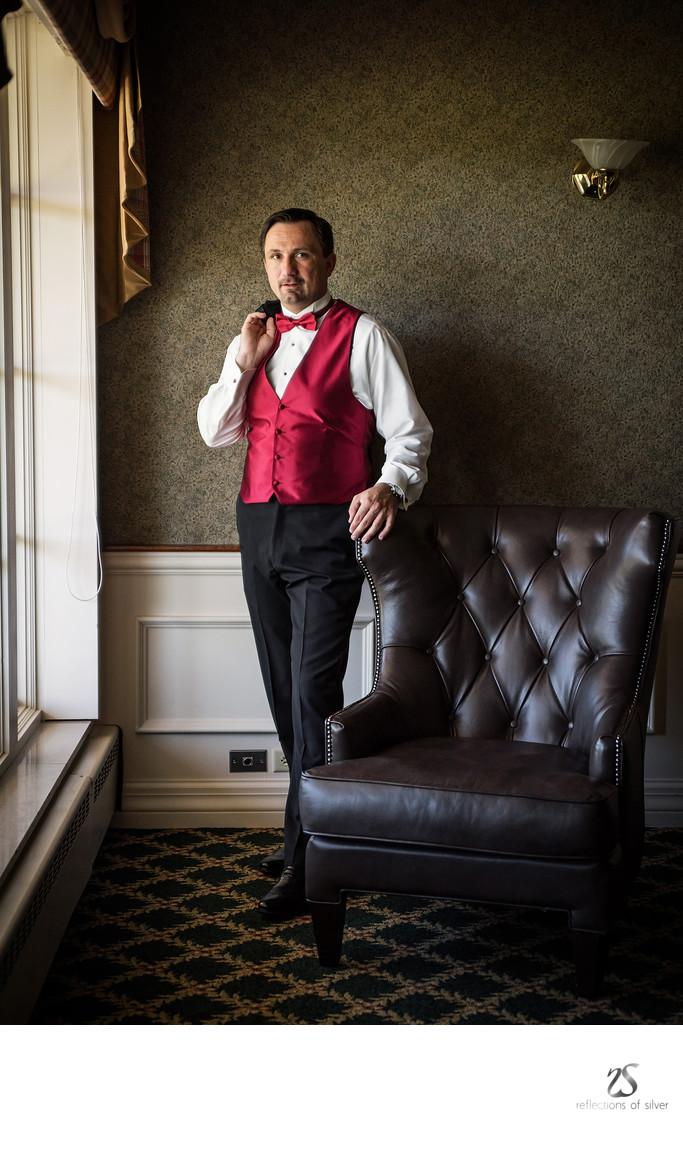 Grooms Portraits Fort Wayne Wedding Photographer