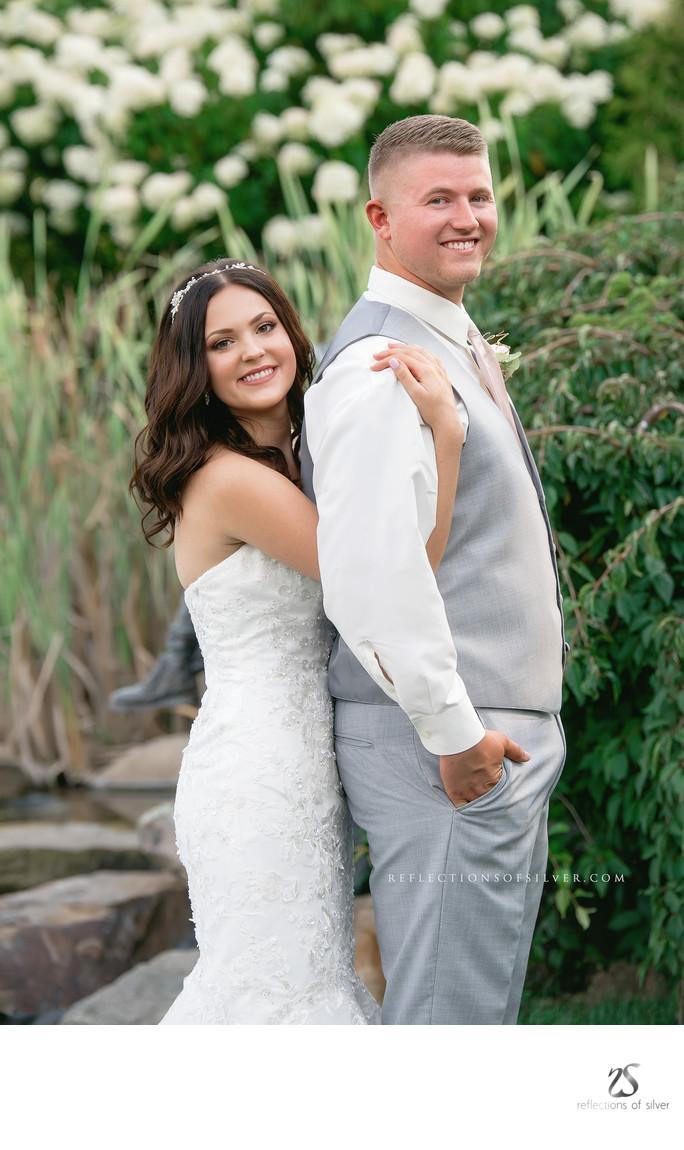 Matter Park Garden Wedding Marion Indiana