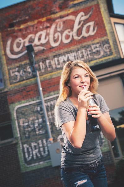 Teen Coca Cola Themed Photo Shoot