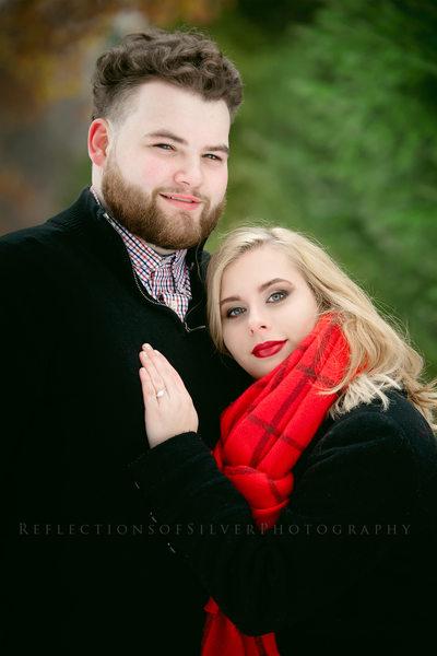 Indiana Winter Engagement Photos