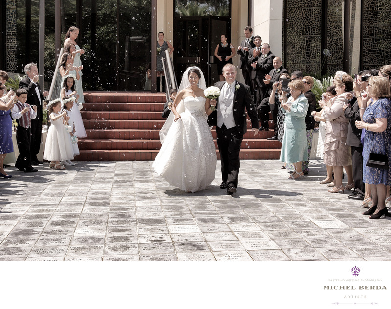 Holy Family Catholic Church Wedding Photographs