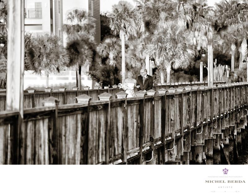Wedding Photographer for Charleston Harbor Resort & Marina.