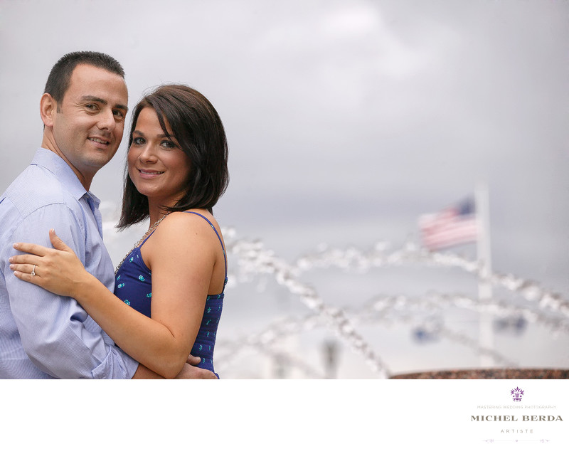 Engagement Water Front Park Charleston