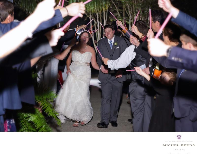 Fairwell reception bride & groom Alhambra Hall