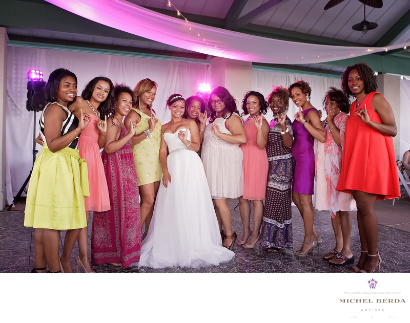 Beda friends and Bride THE WESTIN HILTON HEAD ISLAND RESORT & SPA